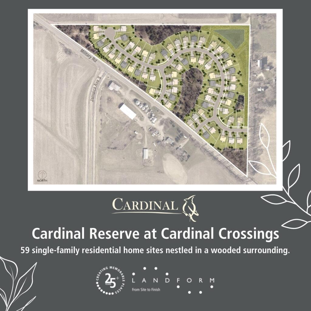 Cardinal Reserve At Cardinal Crossing Cottage Grove Minnesota Landform