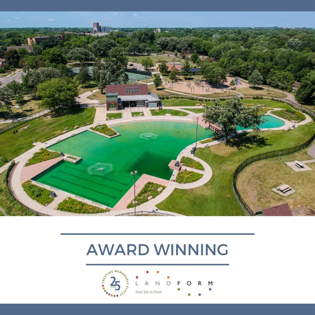 Finance Commerce Landscape Architecture Webber Park Swimming Pool Minneapolis Minnesota