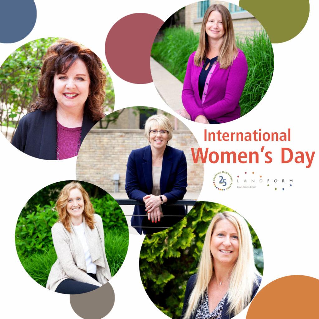 International Women's Day Lanform Minneapolis Minnesota