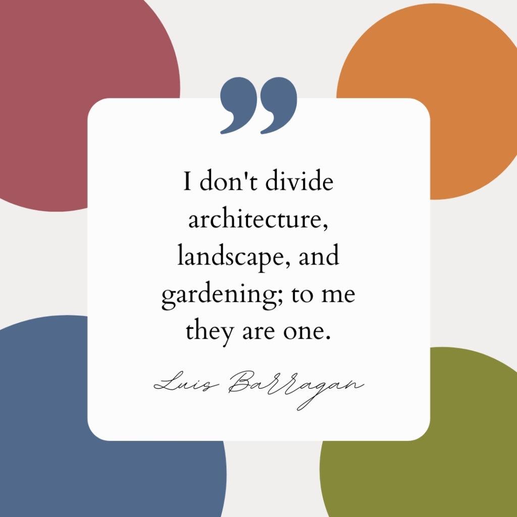 Landscape Architect Luis Barragan Civil Engineer