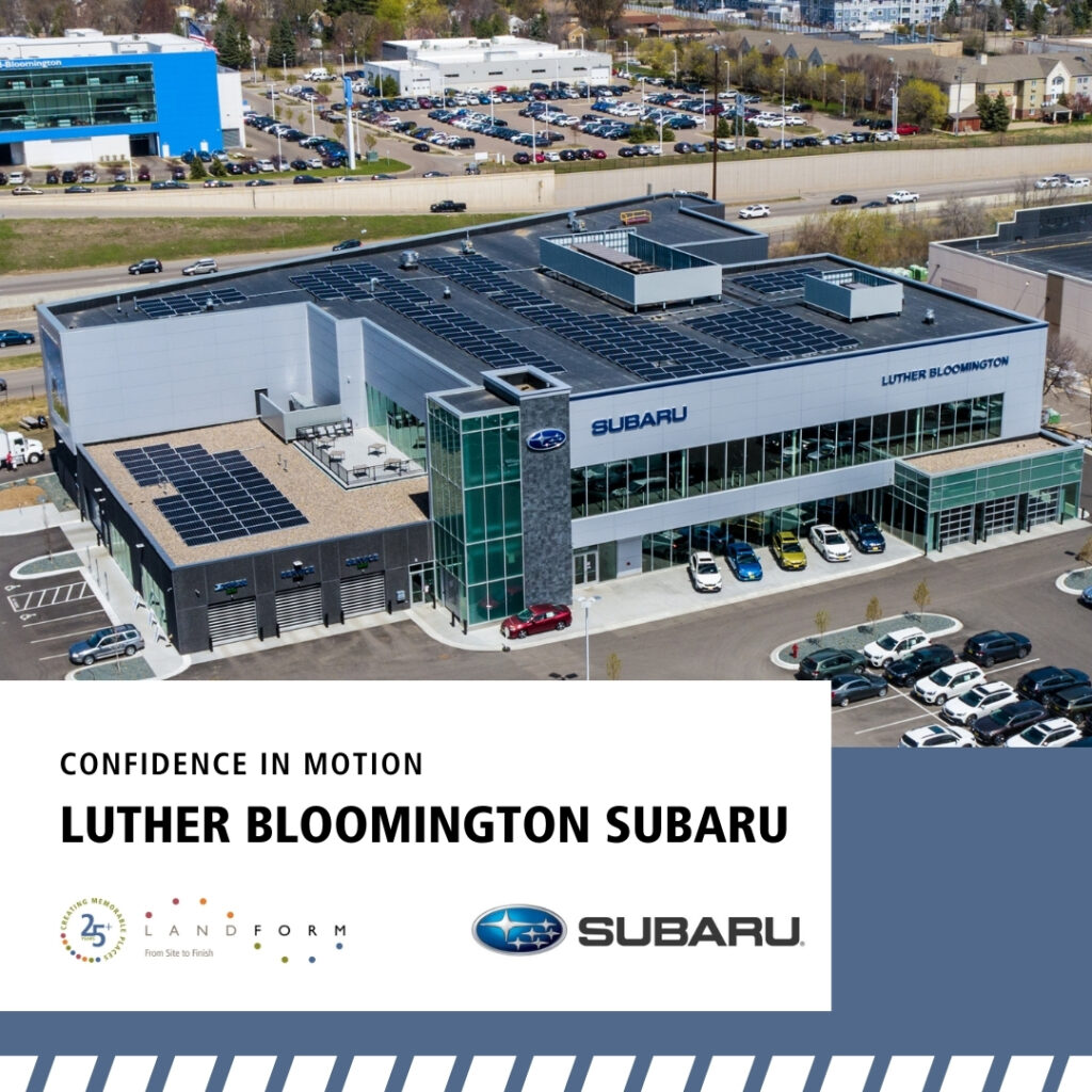Luther Bloomington Subaru Minneapolis Minnesota Civil Engineer Land Surveyor