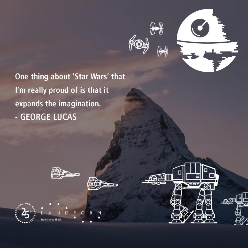 Star Wars Day Disney Darth Vader Jedi Baby Yoda George Lucas