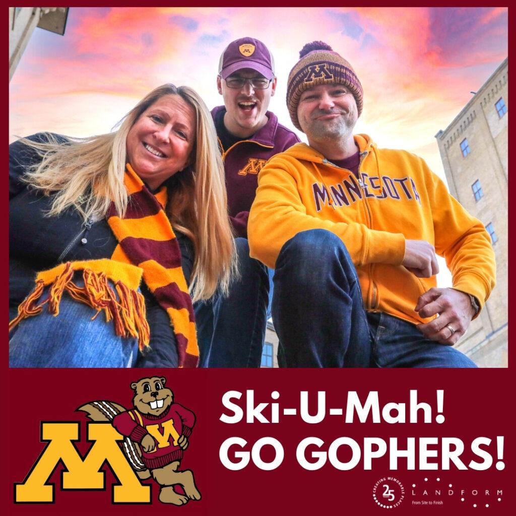 University Minnesota Golden Gophers Ski U Mah