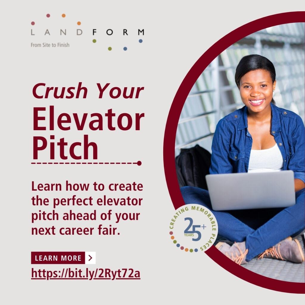 Elevator Pitch Career Job Fair Civil Engineer Land Surveyor Landform Minneapolis Minnesota.jpg