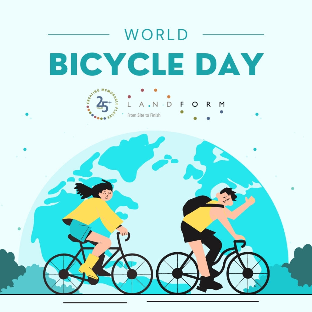 World Bicycle Day urban planner Landform Minneapolis Minnesota