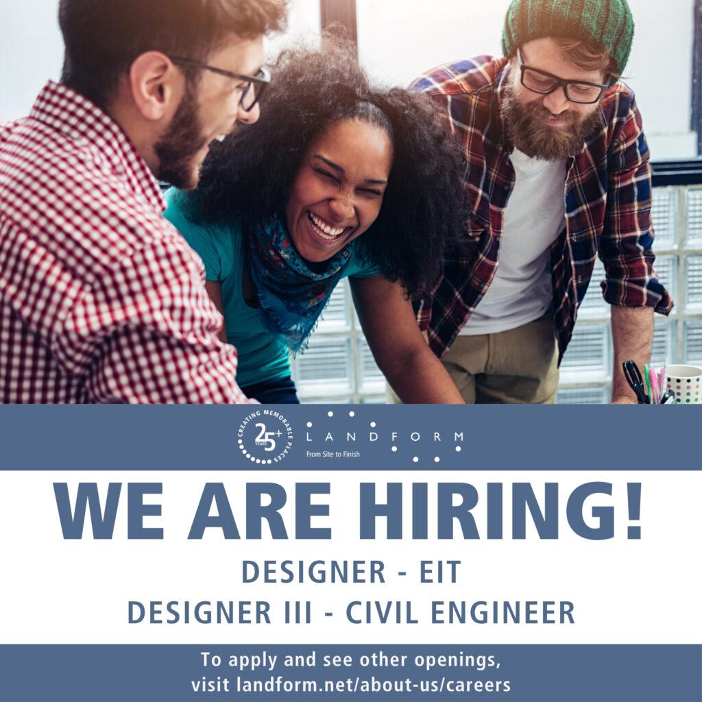 Hiring Civil Engineer Landform Minneapolis Minnesota Good Jobs Now