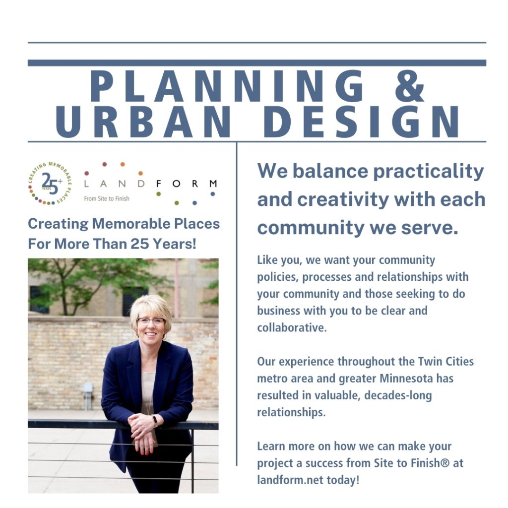 Planning Urban Design Landform Minneapolis Minnesota